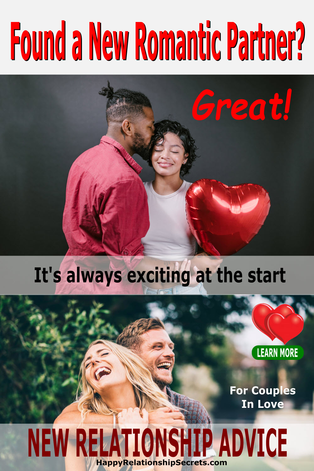 new relationship advice for couples